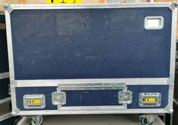 BARCO McLore/Trizio, Flight Case, Transport Box, Equipment Music (120x88x82cm)