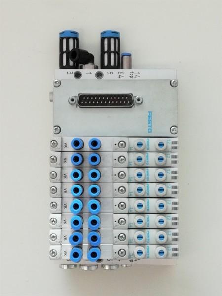 FESTO VTUG-10-MSDR-S1TZ-25V20-Q8L + VAEM-L1-S-M1-25