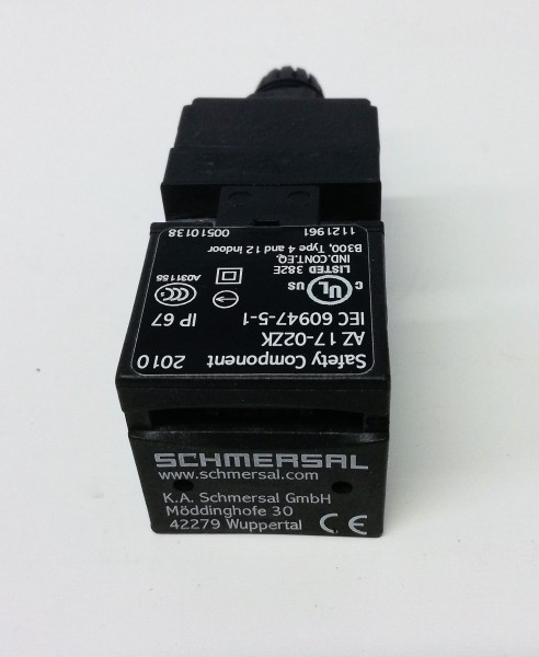 Schmersal AZ 17-02ZK Safety Accessories