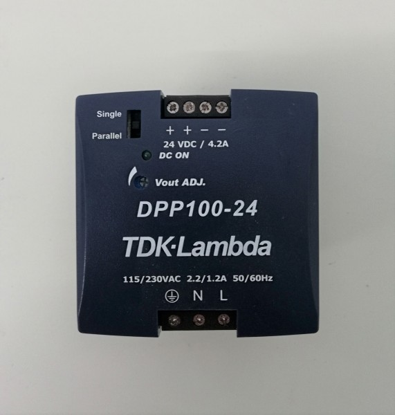 TDK Lambda DPP100-24 DIN rail power supply