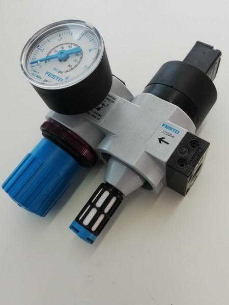 FESTO LR-D-7-MINI (197534) Pressure reducer + HEE-D-MINI-24 (172956)