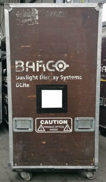 BARCO McLore/Trizio, Flight Case, Transport Box, Equipment Music (120x79x140cm)