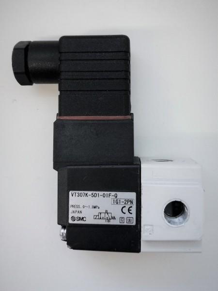 SMC VT 307K-5D1-01F-Q Slenoid